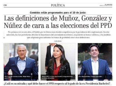 Definiciones de Heraldo Muñoz para el PPD